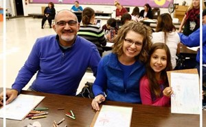 Garden Park Families Engage in Family Art Night - article thumnail image