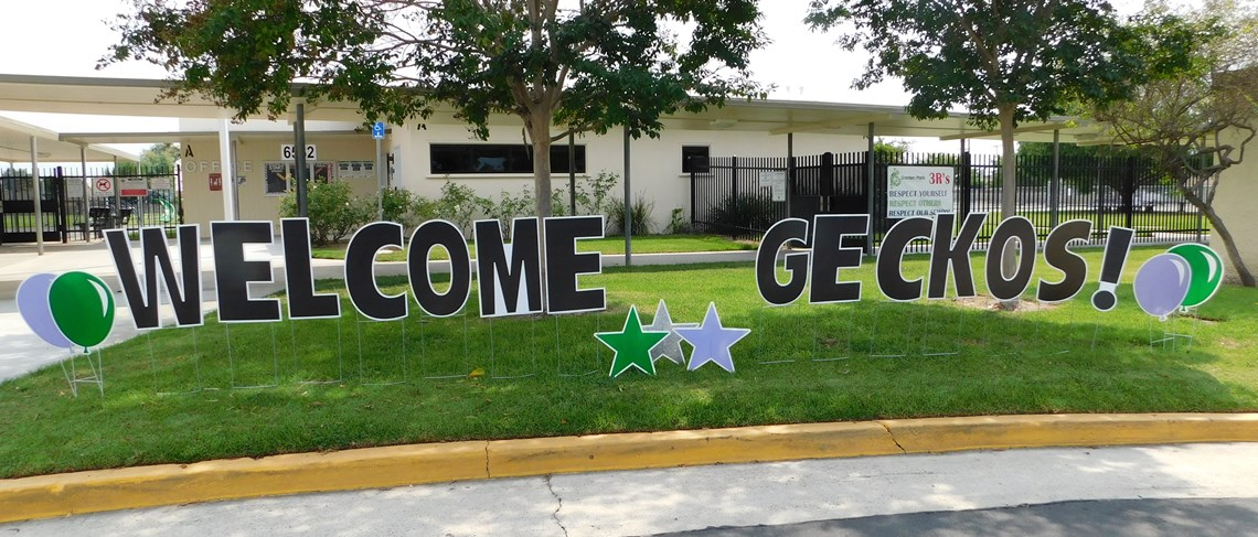 Garden Park Families are welcomed to the 2020-2021 School Year