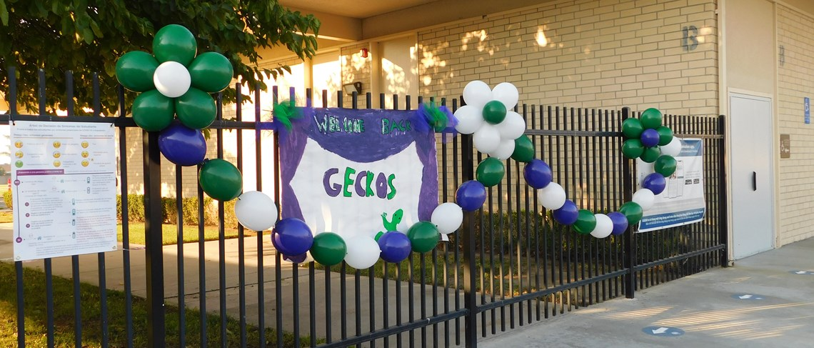Garden Park Welcomes Students Back to School!
